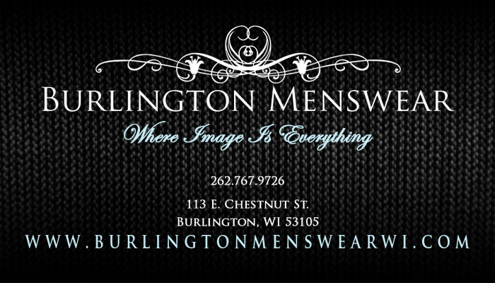 Welcome to Burlington Menswear, where image is everything. We are your one-stop shopping, make-it- happen choice. Let our very experienced and well-trained staff with over 20 years of service in clothing and formalwear take the worry out of looking your best.